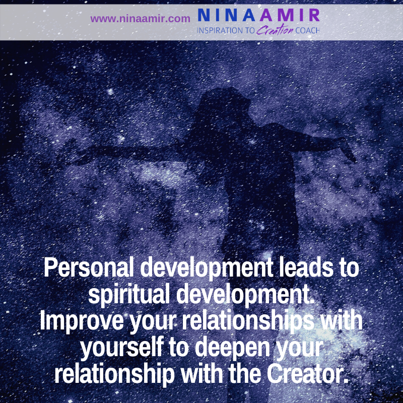 how to use personal development to enhance spiritual development