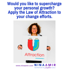 supercharge your personal growth with the Law of Attraction