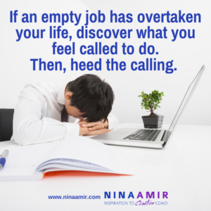Are You Doing a Job or Pursuing a Calling?