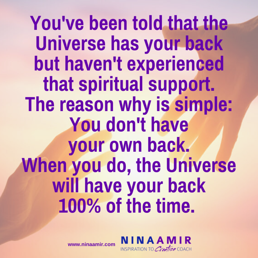 why the universe doesn't seem to have your back