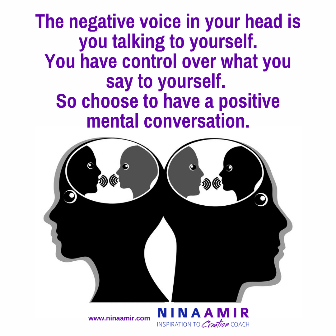 how to stop negative mental chatter