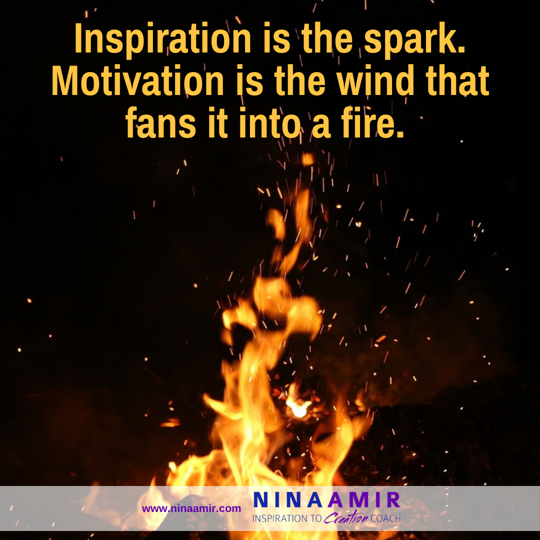 how inspiration is different than motivation