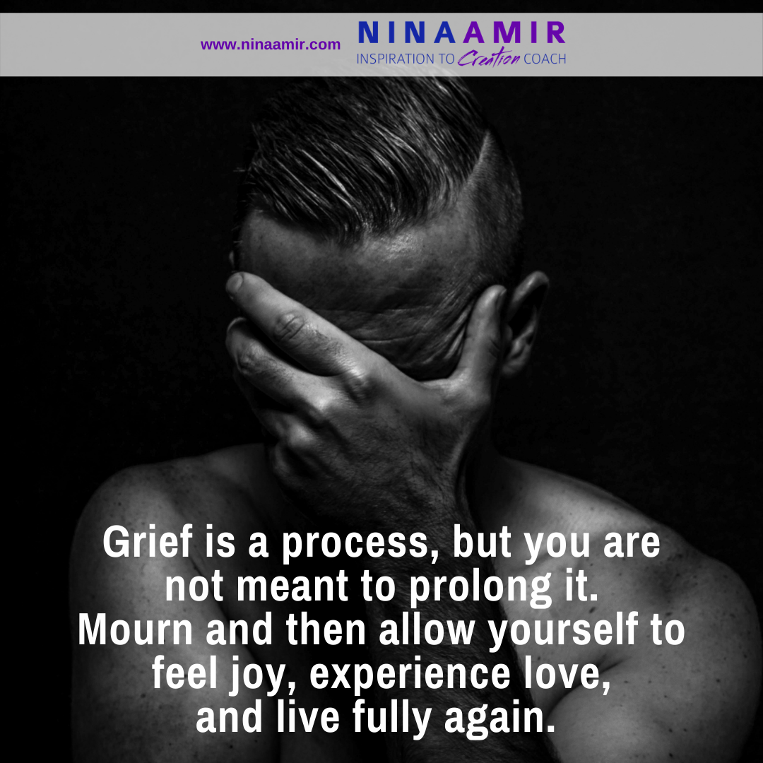 Move through the Process of Grief