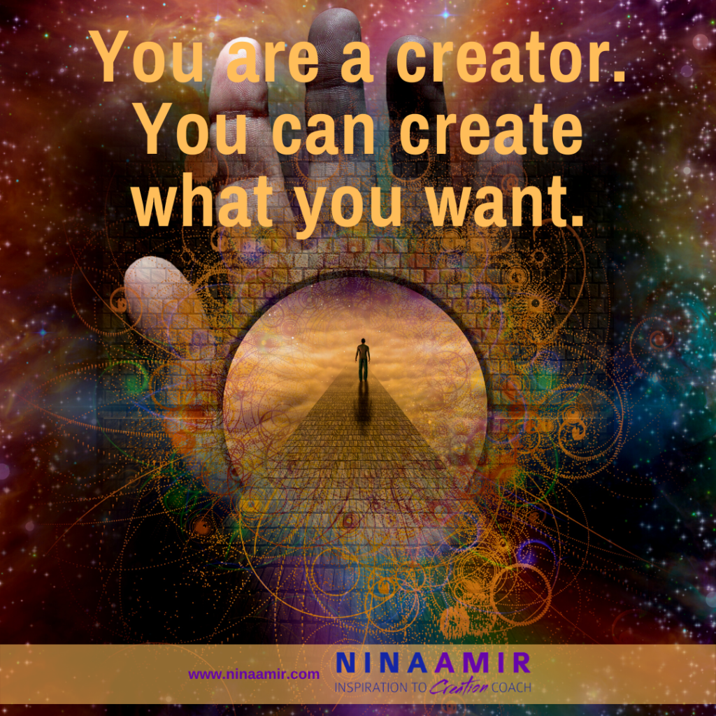 How to create what you want
