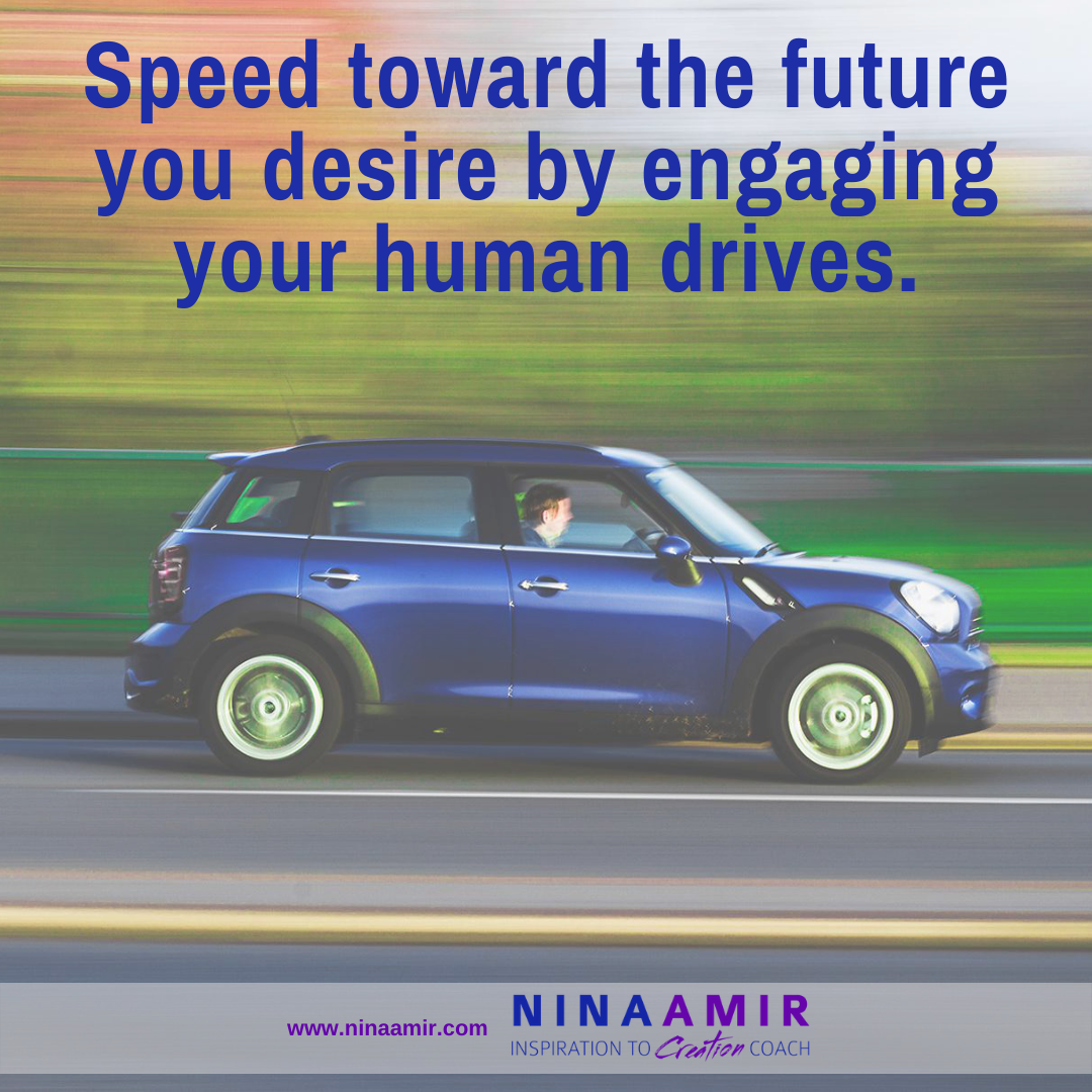 Turbocharge your life by activing th 10 human drives