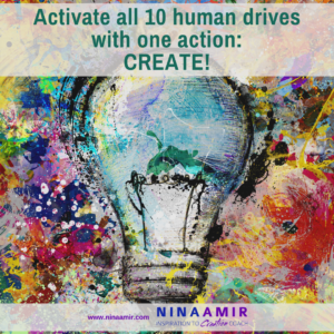 Creativity - drive for creative expression