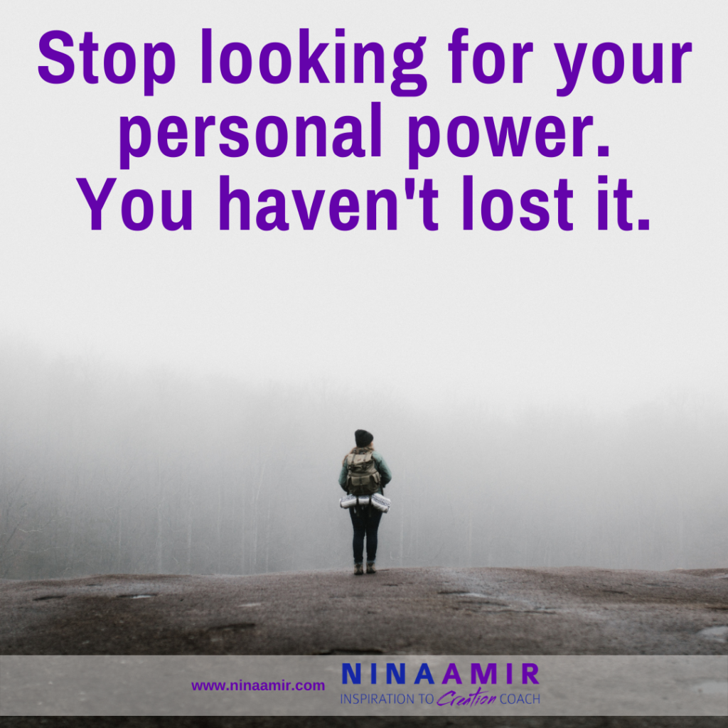 regain your personal power