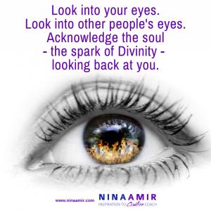 eyes window to soul