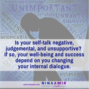 how to change your negative self-talk
