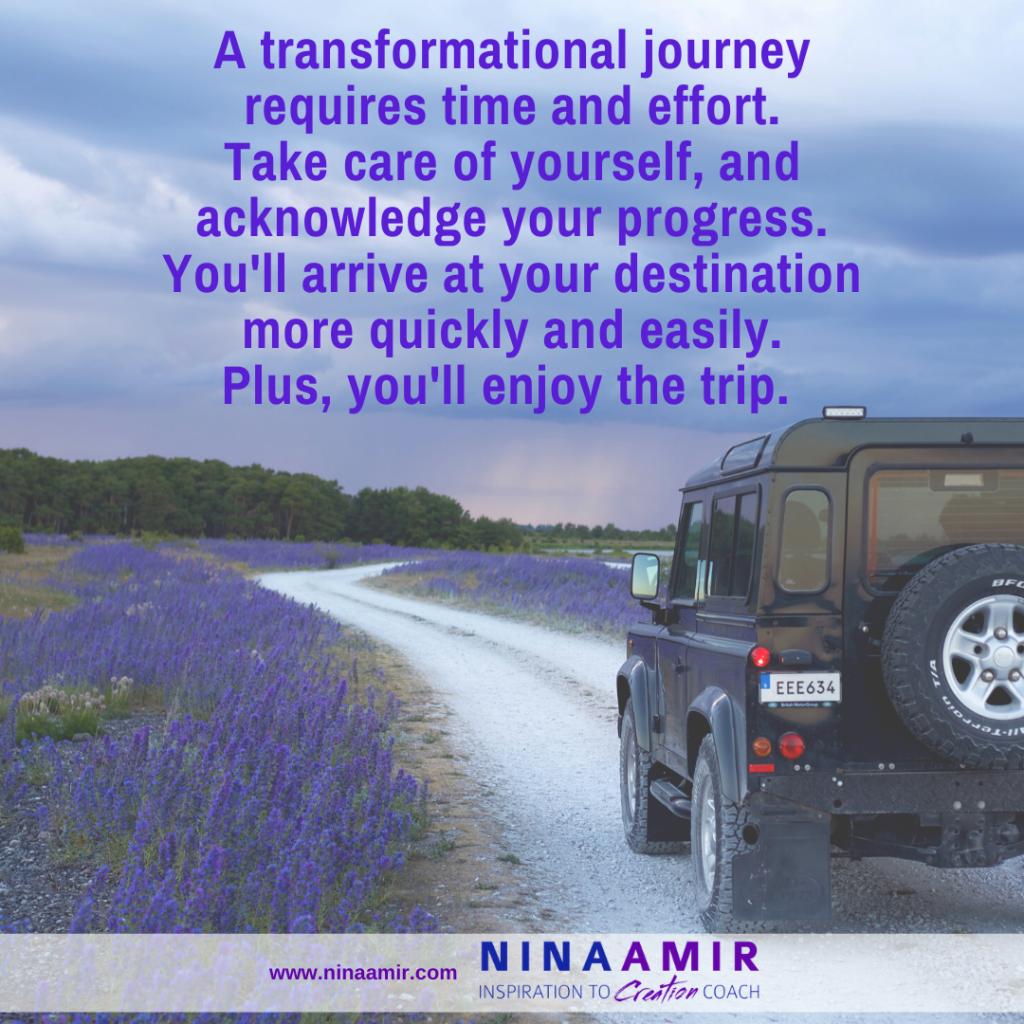 advice for a transformational journey