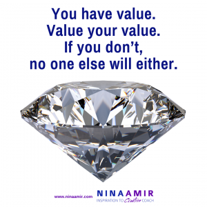 learn to value your value