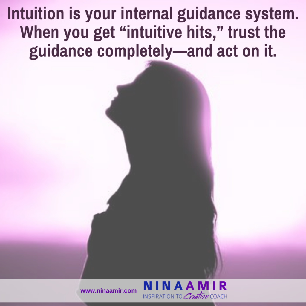 deveolop trust in your intuition