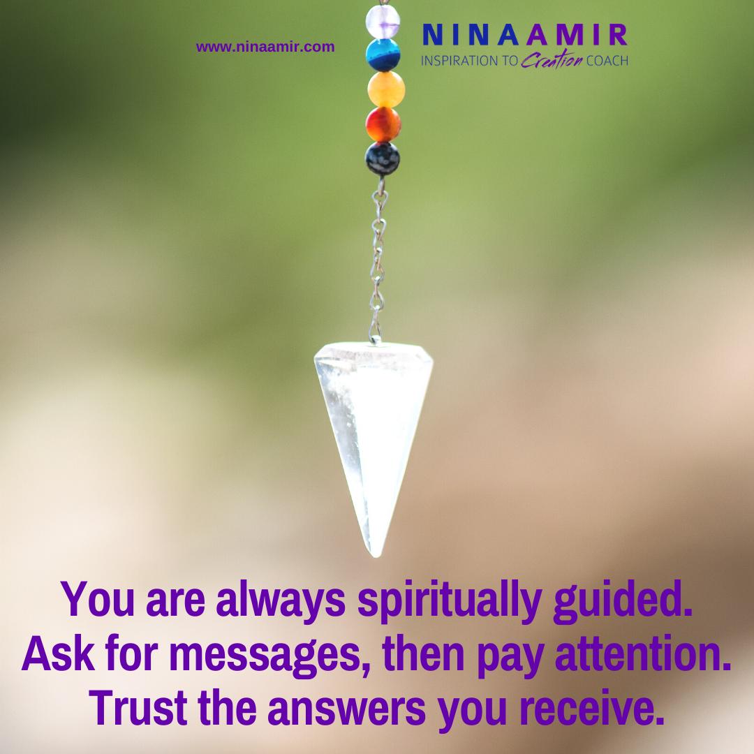 access spiritual guidance